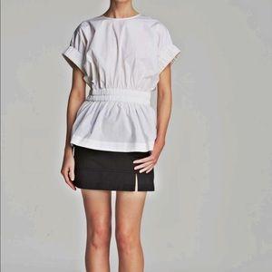 Marc Jacobs Women's Peplum Top Size Large